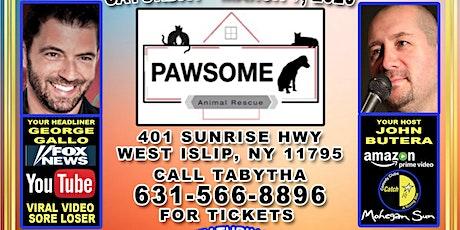Pawsome Pet Rescue's 4th Annual Comedy show & fundraiser! tickets
