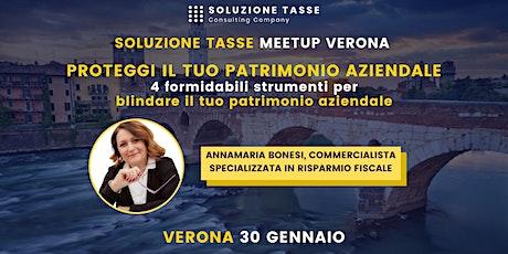 Soluzione Tasse MeetUp - Verona biglietti