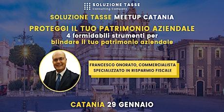Soluzione Tasse MeetUp - Catania biglietti