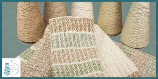 Weaving Textures:  Natural Cotton Wash Cloths