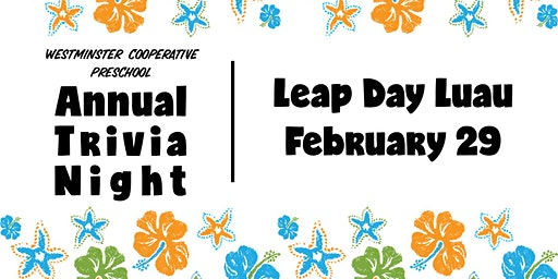 Leap Day Luau Trivia Night