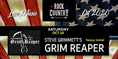 Steve Grimmett's GRIM REAPER at Rock Country! tickets