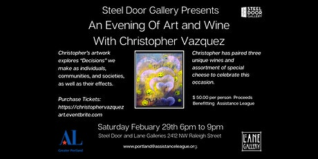 An Evening Of Art and Wine With Christopher Vazquez tickets