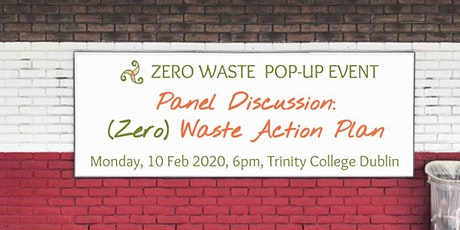 Panel Discussion - Waste Action Plan (Zero Waste Pop-Up Event) tickets