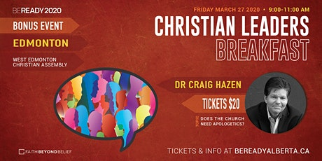 CHRISTIAN LEADERS BREAKFAST - EDMONTON tickets