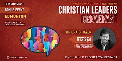 CHRISTIAN LEADERS BREAKFAST - EDMONTON