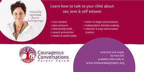 BELLINGEN  - Courageous Conversations Parent Forum tickets