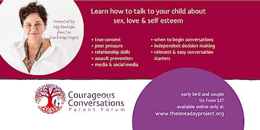 CASTLEMAINE - Courageous Conversations Parent Forum