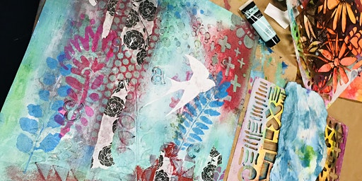 Permission To Create: Mixed Media Workshop
