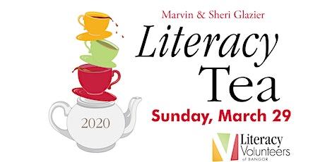 The Marvin & Sheri Glazier Literacy Tea tickets
