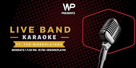 Live Band Karaoke! tickets