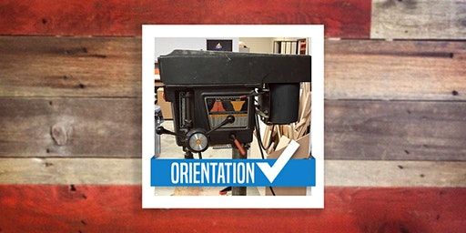 Woodshop Orientation (Router, Jointer, Drill Press) Feb. 19