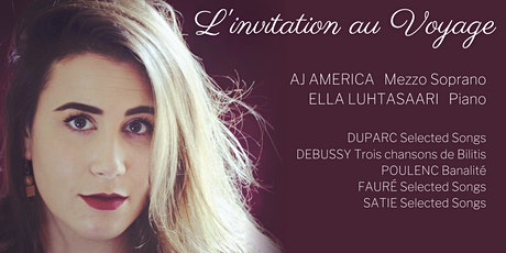 L'INVITATION AU VOYAGE: AJ America and Ella Luhtasaari tickets
