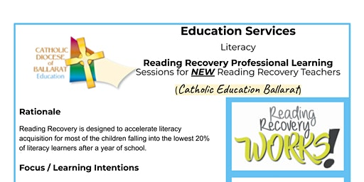 Reading Recovery Professional Learning for NEW teachers