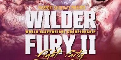 WILDER vs. FURY II FIGHT NIGHT PARTY at Josephine lounge FEB 22nd 2020