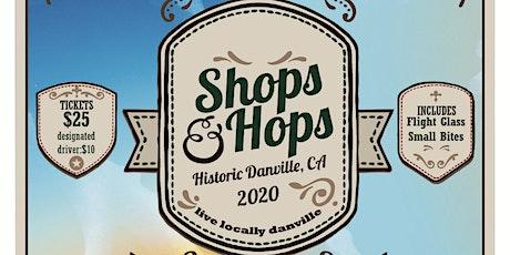 Danville Shops & Hops Craft Brew Stroll 2020 tickets
