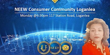 NEEW Consumer Community LOGANLEA tickets