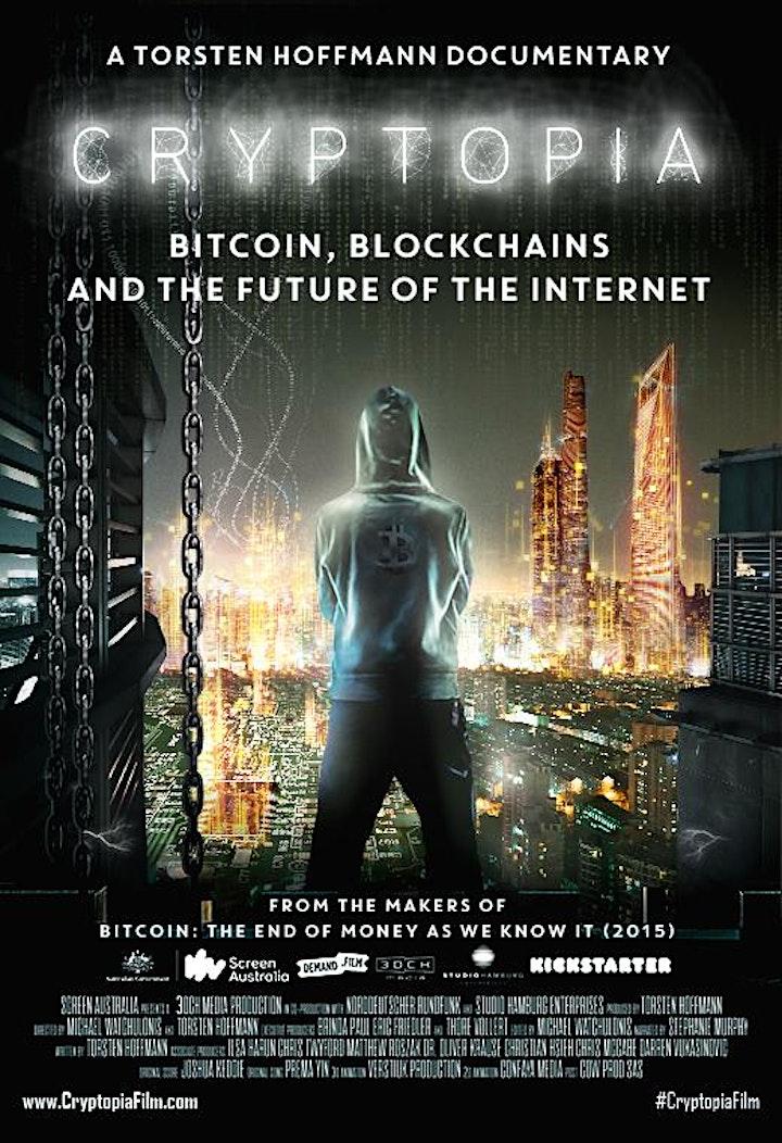 #CryptopiaFilm Premiere in Berlin / Blockchain Doc image