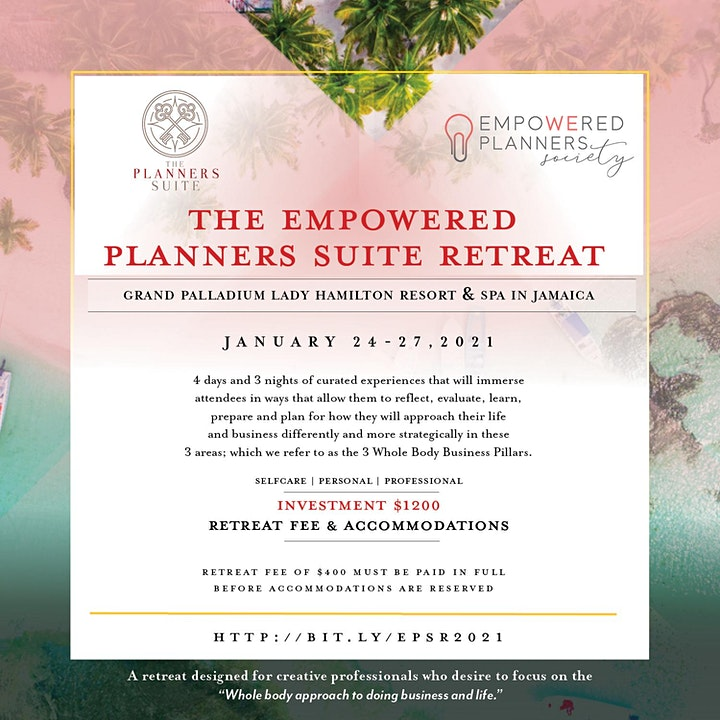 The Empowered Planners Suite Retreat image