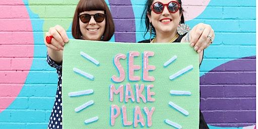 See Make Play Workshop with Burwood Brickworks
