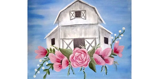 """3/25 - Corks and Canvas Event @ Sigillo Cellars, Snoqualmie """"Barn in Bloom"""""""