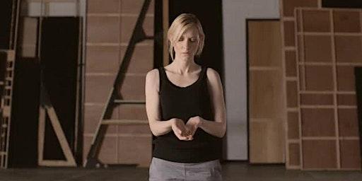 Talking art—Portrait of Cate Blanchett