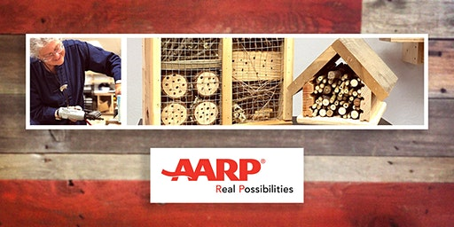 Working with Wood: Building Homes for Bats! (AARP Make-up Workshop)