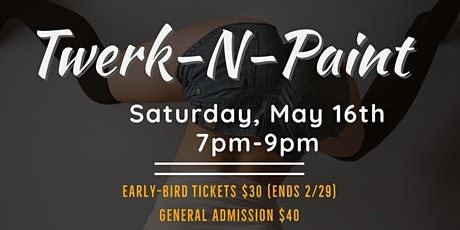 Twerk-N-Paint tickets