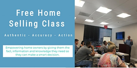 Free Home Selling Class tickets