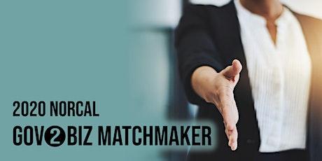 2020 Norcal Gov2Biz Matchmaker - Santa Rosa tickets