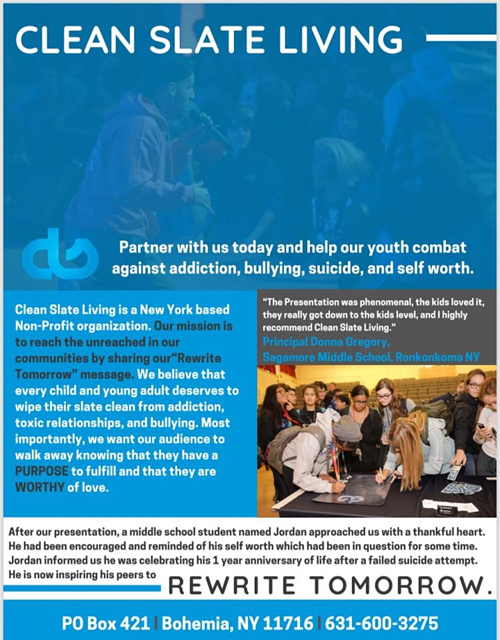 Clean Slate Living's 7th Annual Dinner Gala image