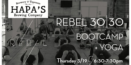 Rebel 30|30 at Hapa's Brewery