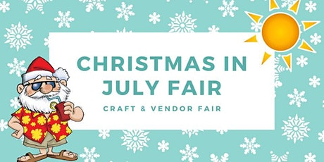 Christmas in July Fair tickets
