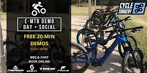 E-MTB Demo Day + Social - 2020 Models