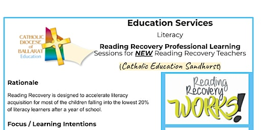 Reading Recovery Professional Learning for NEW teachers - Sandhurst