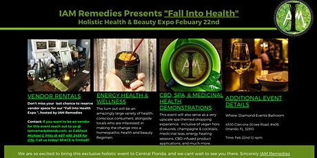 Fall Into Health Holistic Health & Beauty Expo tickets