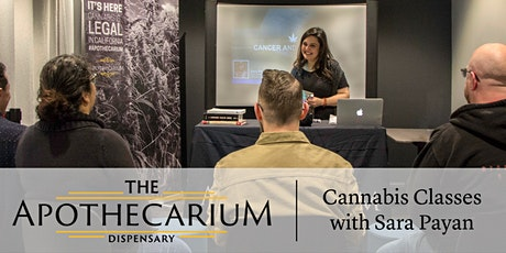 Cannabis Without the High: CBD and THCA for Cancer, Mood, and Pain - Free Class at the Apothecarium tickets