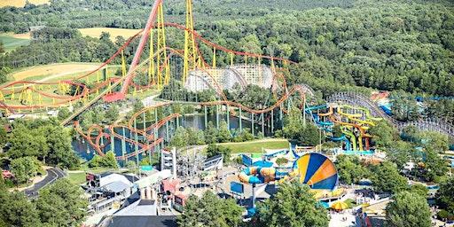 Kings Dominion Amusement Park Trip