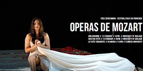 Don Giovani, Mozart (Opera)   Projection in Braggs Lecture Theatre tickets