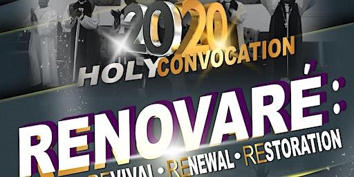 Holy Convocation 2020