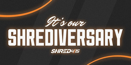 Shred415 Anniversary Celebration - 3 days of FREE Classes tickets