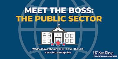 Meet the Boss: The Public Sector