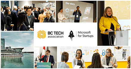 BC Tech and Microsoft for Startups Founders Welcome Event tickets
