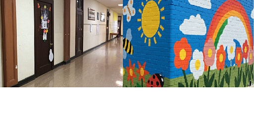 Brighten the halls for students at Firestone Park Elementary Day 3