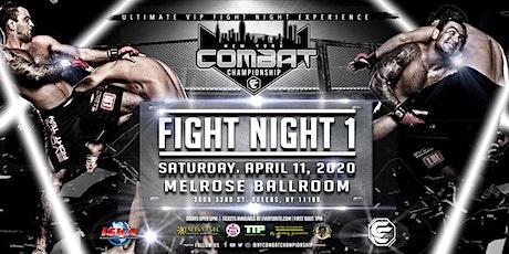 NY Combat Championship Fight Night 1 tickets