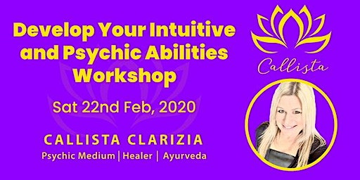 Develop Your Intuitive and Psychic Abilities Workshop