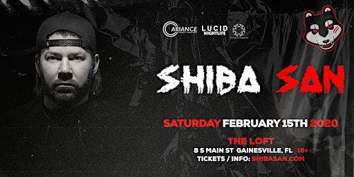 Alliance Presents: Shiba San - Gainesville, FL