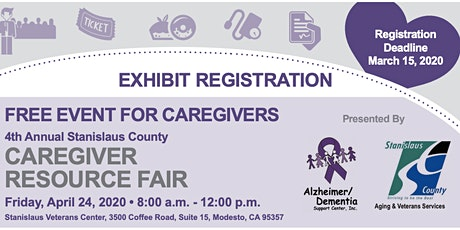 4th Annual Stanislaus County Caregiver Resource Fair (Vendor Registration) tickets