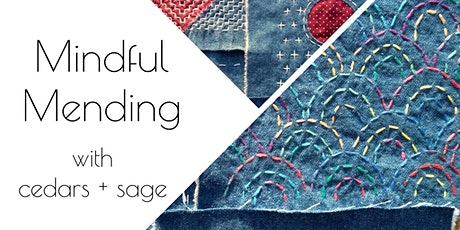 Mindful Mending - The Art of Sashiko tickets