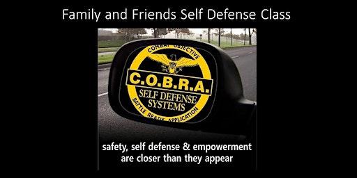 Family & Friends Self-Defense Class
